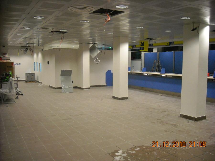 Foto Realizzazione nuovo Ufficio Poste Italiane Livorno
