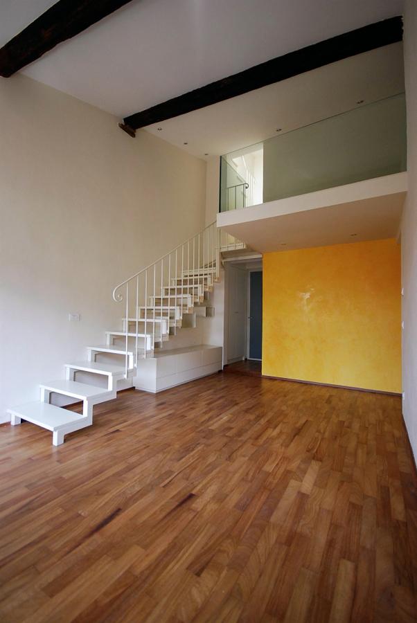 Progetto di Ristrutturazione di Appartamento con Soppalco