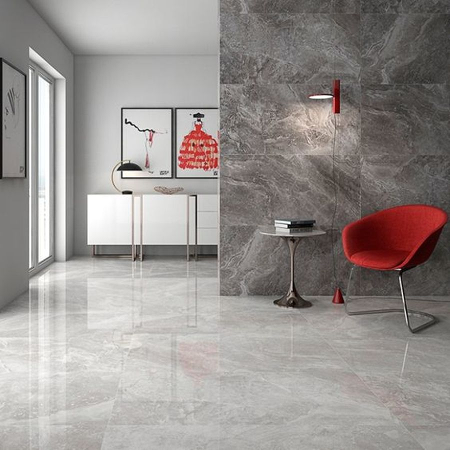 Foto Salone con Pavimento In Resina di Manuela Occhetti 584982  Habitissimo