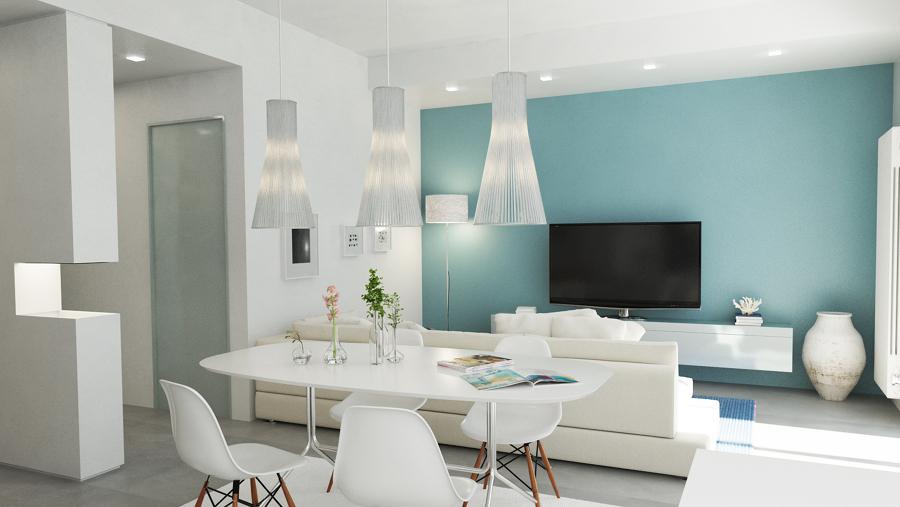 Foto Soggiorno Moderno Ristrutturazione Appartamento Firenze di Marilisa Dones 358966