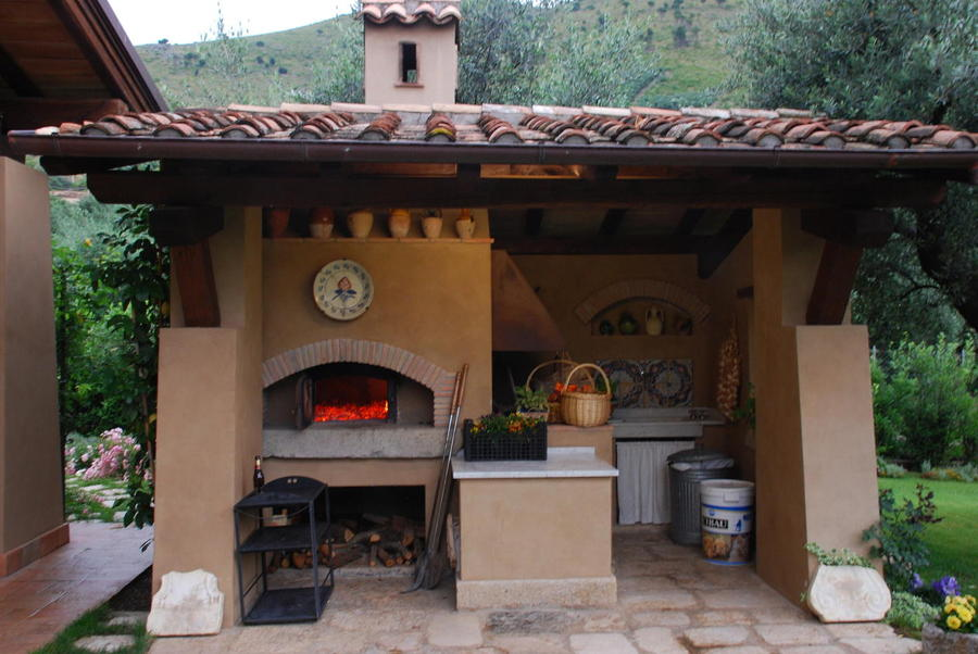 Foto Vista Forno e Barbecue di Adidesign Studio Di