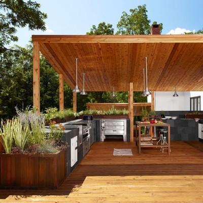 Idee e Foto di Cucine In Giardino Per Ispirarti  Habitissimo