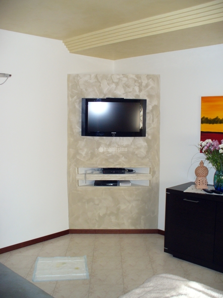 Foto Creazione In Cartongesso Mobile Porta Tv di Scala