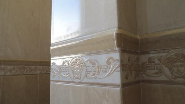 Foto Dettaglio Rivestimento Bagno Versace di Edil BC 446304  Habitissimo