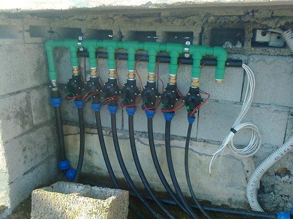 Foto Elettrovalvole Dellimpianto di Irrigazione di