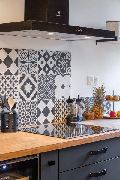 Foto Piastrelle Cucina Decorate di Rossella Cristofaro 558800  Habitissimo