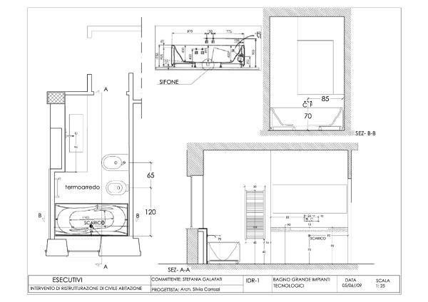 Foto Progetto Esecutivo Appartamento Roma Via Lizzani di Nicarch 86920  Habitissimo