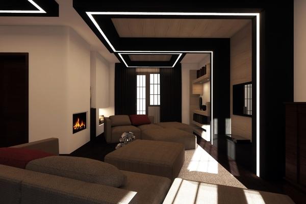 Foto Salasoggiornoristrutturazionestudioaydtorino di Architetto Luca Giuseppe Piazza 98356