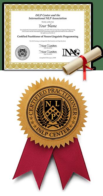 Formazione online PNL - certificato