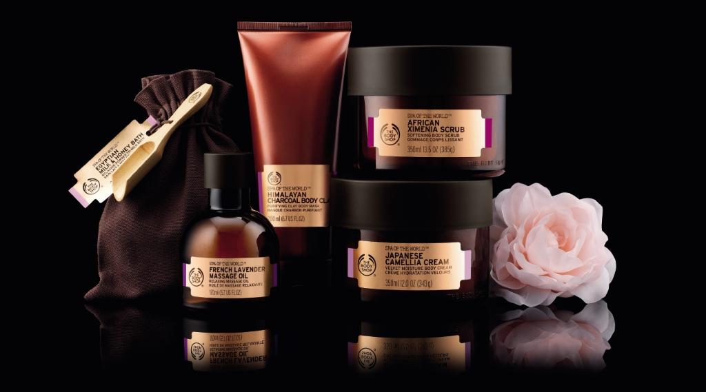 The Body Shop lancia SPA of the World  Kenderasia