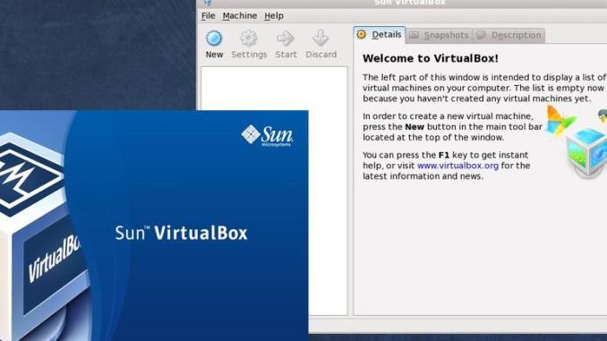 VirtualBox 3.0
