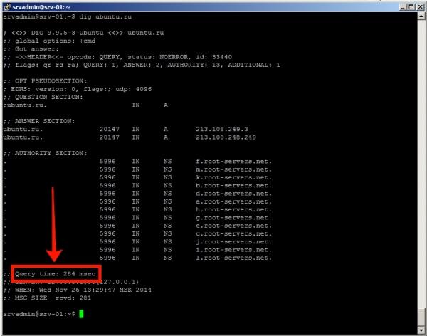 Установка и настройка DNS сервера Ubuntu 14.04.1 LTS