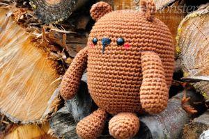 Amigurumi - größten Bär häkeln - Mr. Potato - Anleitung - Häkelanleitung