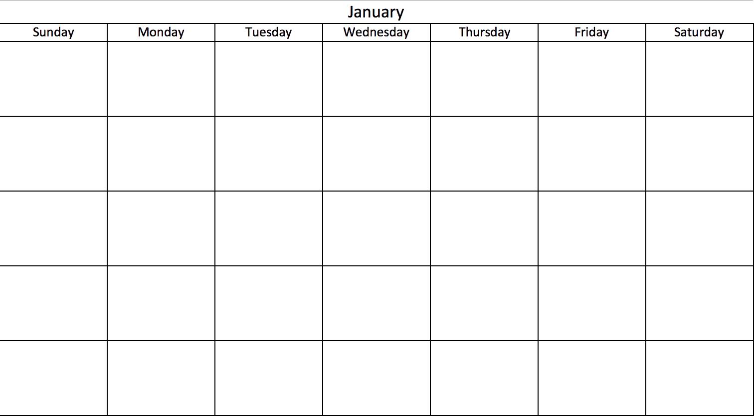 Modelli Di Calendario Excel Gratuiti E Stampabili Per Il