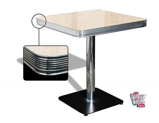 tavolo americano Retro Diner TO23W Thecrazyfiftieses