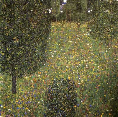 Paesaggio Di Un Giardino 1906  particulare raccolta di