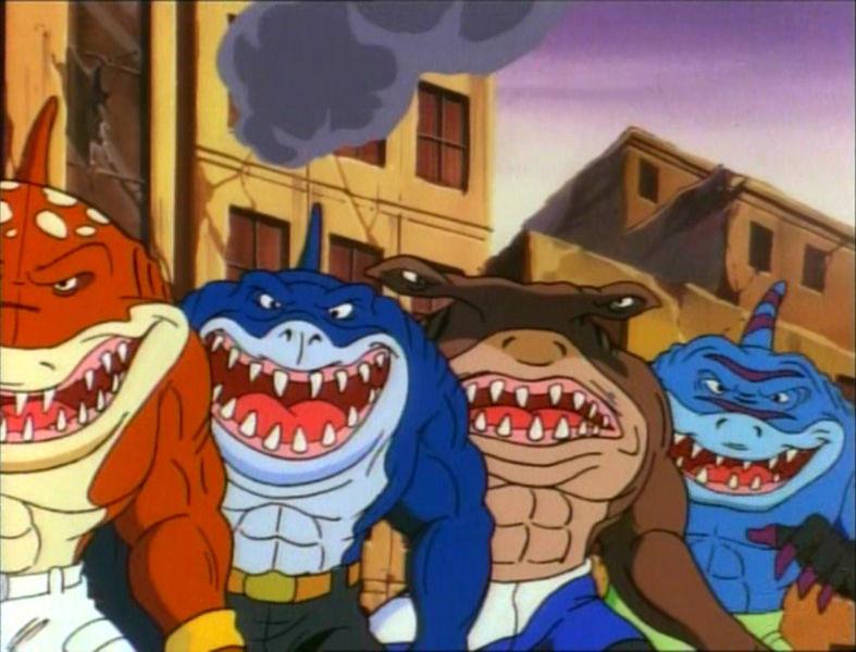 Street Sharks Quattro pinne allorizzonte  WikiFur