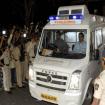 Sridevi body in Ambulance