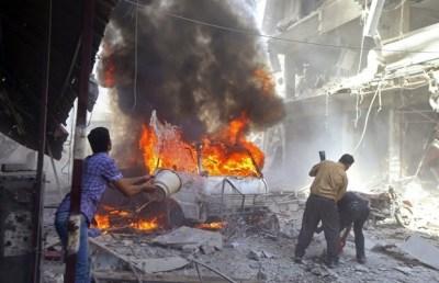 Resultado de imagem para Síria diz que ataque dos EUA foi irresponsável e Rússia reforçará defesa antiaérea