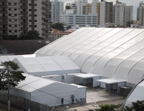 Comissão da Alerj vistoria Hospital de Campanha de Campos