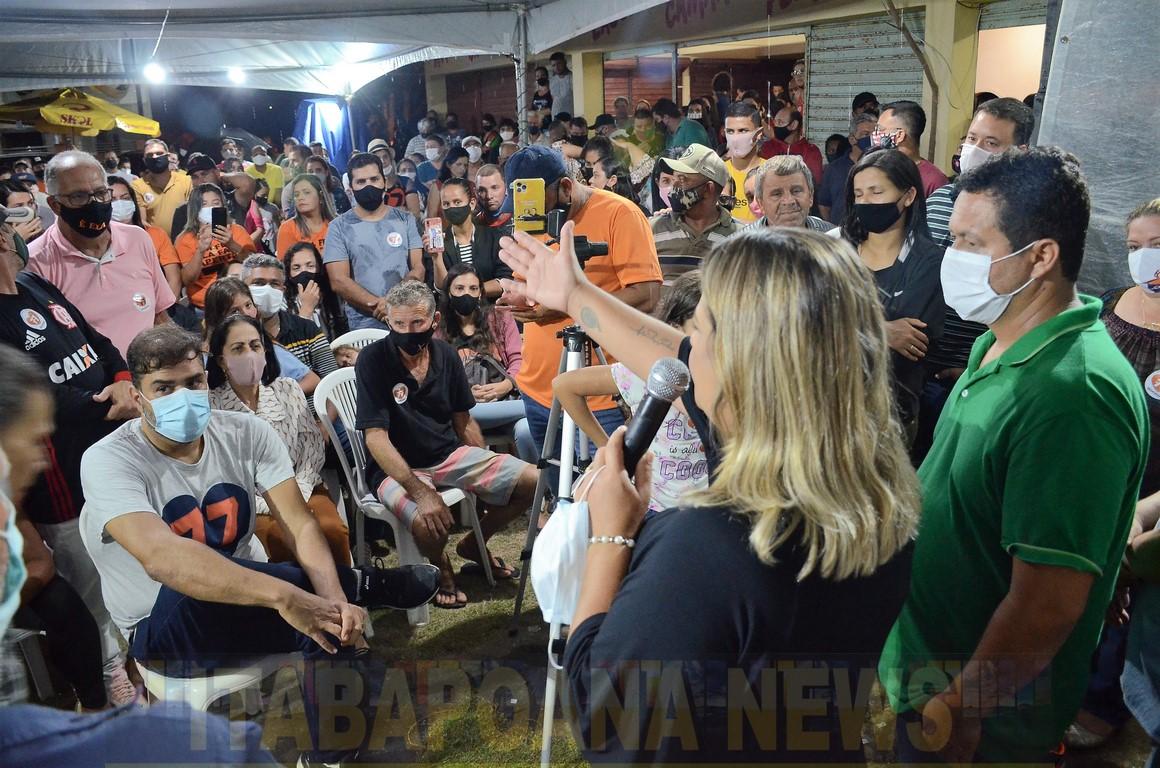 Na reunião desta quarta-feira,  Gargaú confirmou a vitória de Francimara 77 no próximo domingo. Fotos