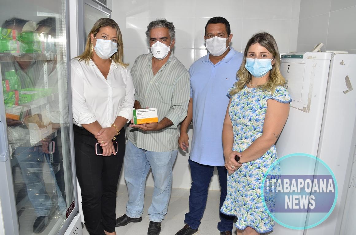 SFI inicia vacinação contra Covid-19 nesta quarta-feira (20)