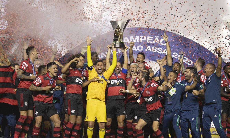 O Morumbi terminou com festa, Flamengo campeão brasileiro de 2020