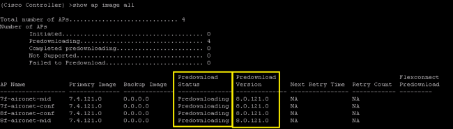 Cisco-WLC-predownload-AP