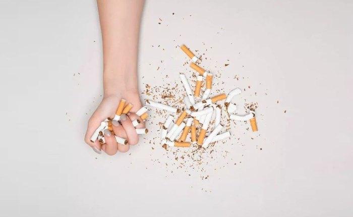 Test para dejar de fumar