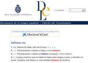 pagine di collegamento con lo spagnolo
