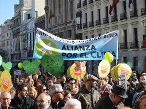Marcha por el Clima, Madrid 29 novembre 2015 (Foto L.Pasqualini)