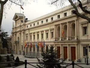 Il Senato spagnolo, a Madrid
