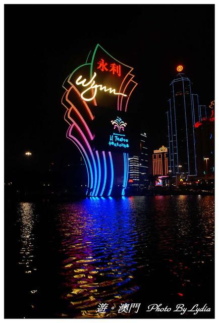 【遊。澳門】永利澳門酒店Macau Wynn~豪華音樂噴泉水舞秀&吉祥樹
