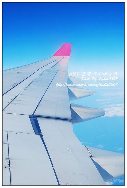 【2011香港吃不停之旅】啟程。港龍航空&機上套餐
