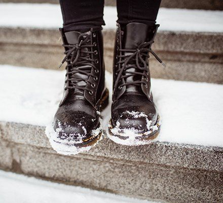 Bagaimana untuk membuat kasut musim sejuk dengan bukan slip.jpg