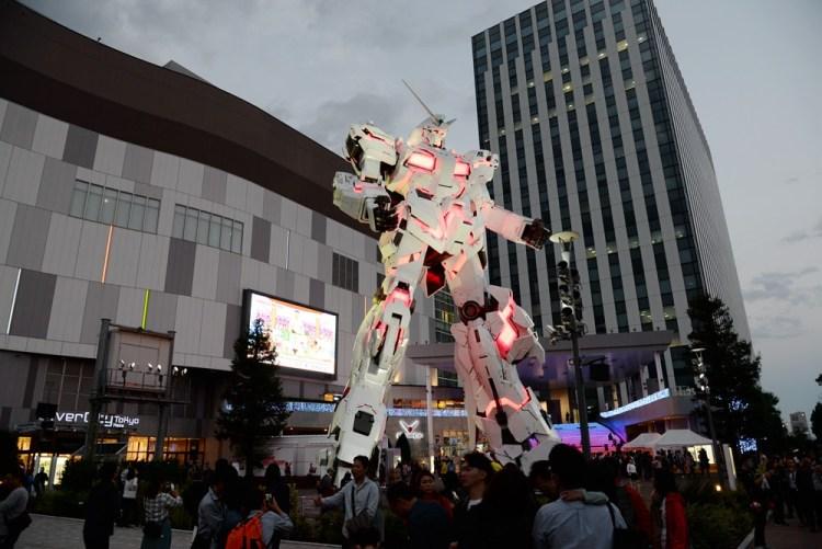 日本東京購物中心|Diver City Tokyo Plaza 台場獨角獸鋼彈RX-0、築地銀だこ美食、agnès b.精品 一次逛個夠