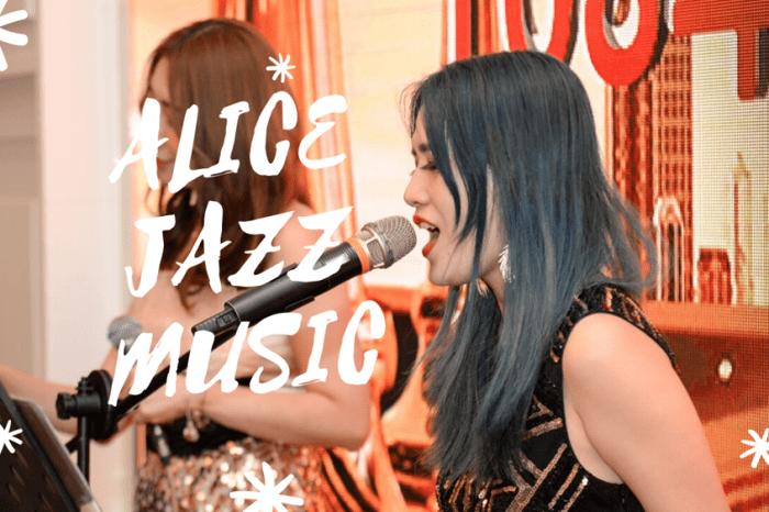 ALICE JAZZ MUSIC 愛麗絲爵士樂團  高雄林皇宮城市月光閃亮PARTY 富住通商用不動產競賽頒獎典禮