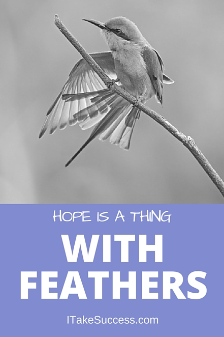 hope is the thing with feathers pdf