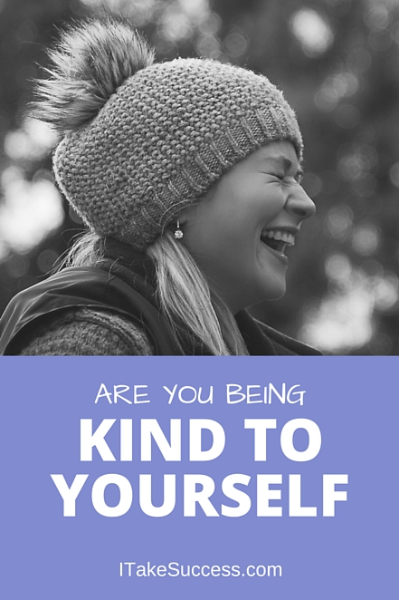 Are you kind to yourself? Stop saying negative things to yourself and start affirming the positive. You ARE awesome. Start saying it!