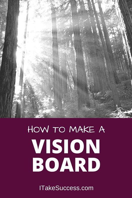 Making a vision board is one of the best ways to get clear on your goals and keep them front and center in your daily life. Create a vision board.
