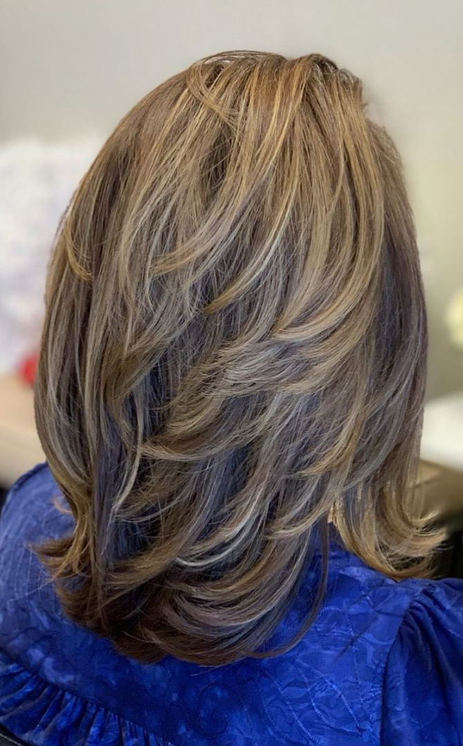 Low Maintenance Fine Hair Medium Length Hairstyles : maintenance, medium, length, hairstyles, Trendy, Maintenance, Haircuts, Hairstyles, Wedding, Readings, Ideas, Dresses, Theme