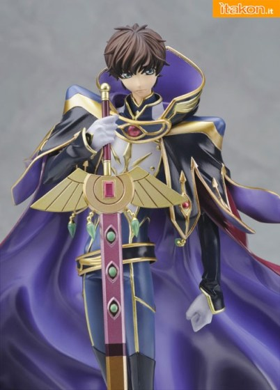 Code Geass Suzaku Kururugi Alpha x Omega - itakon.it