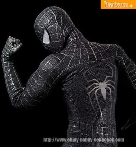 Hot Toys: Spider-man (Black Suit Version) - Galleria Fotografica