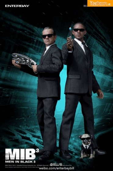 Enterbay: MIB - Men in Black 3 Real Masterpiece 1/6 - Foto Ufficiali