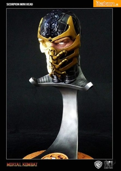 Syco collectibles: Scorpion e Reptile Mini Bust - In Preordine