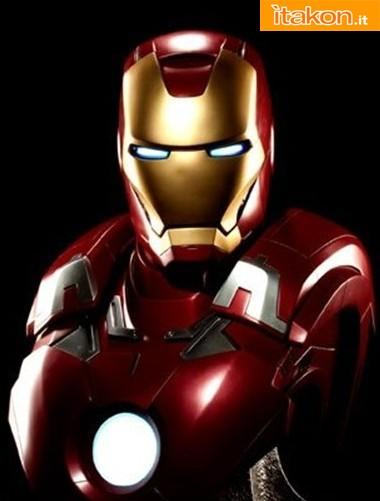 Sideshow: Iron Man Mark VII Life-Size Bust - Immagini Ufficiali