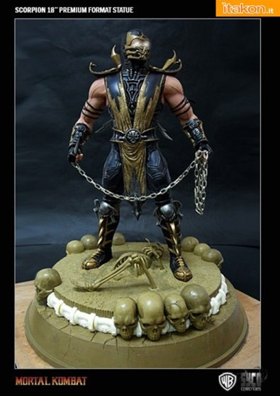 Scorpion 18'' Exclusive Base da Syco Collectibles - Anteprima