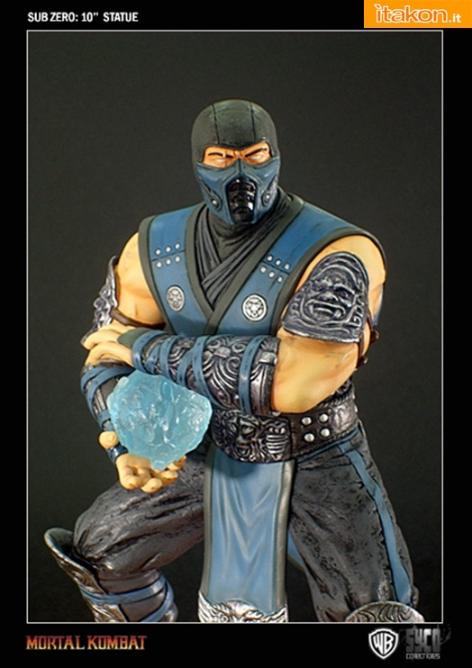 Sub Zero 10'' Statue da Syco Collectibles