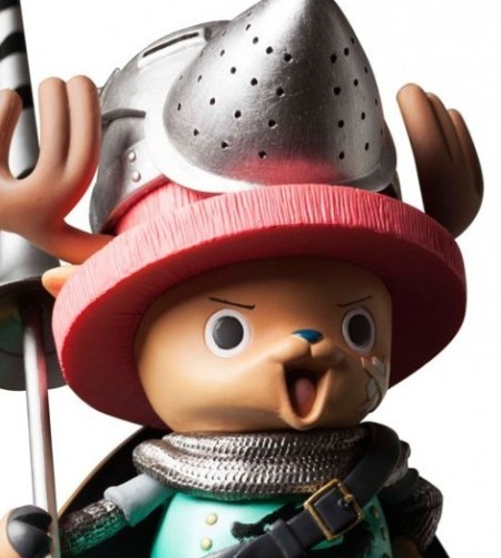 chopper one piece DPFC door painting figure collection plex