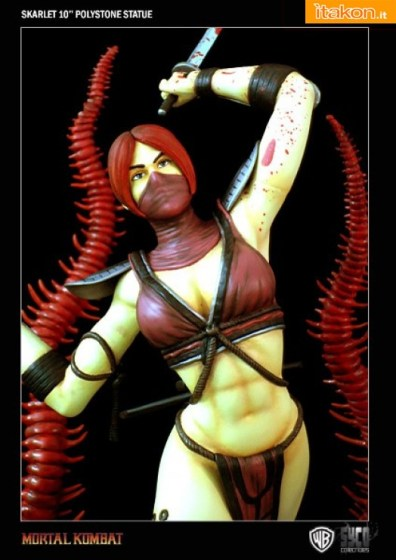 Mortal Kombat: Skarlet 10'' Statue dalla Syco Collectible - In Preordine